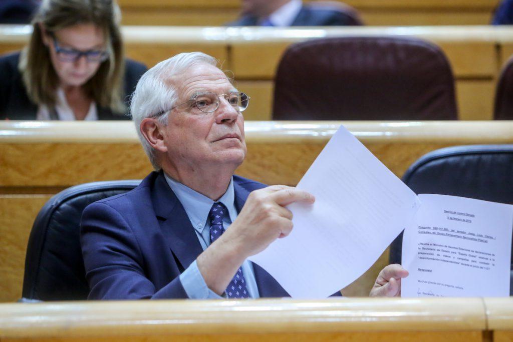 Borrell aborda con el director de Human Rights Watch para América la situación de los DDHH en Venezuela