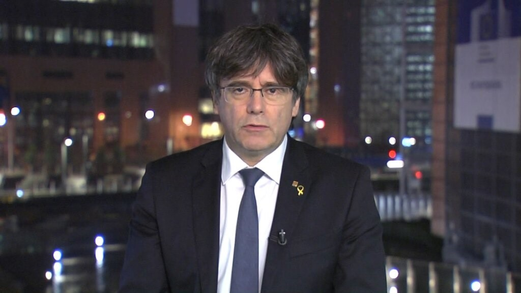 Puigdemont replica a Arrimadas que Carolina Punset fue «expulsada» de Ciudadanos justamente por visitarle