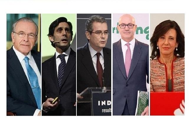Fainé, Pallete, Isla, Nuño de la Rosa y Botín, los mejores gestores empresariales de España, según un estudio