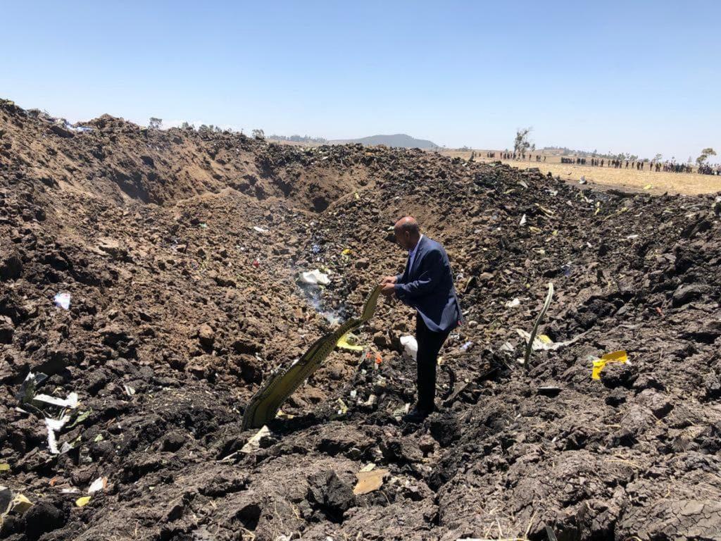 En el avión siniestrado en Etiopía había 19 trabajadores de la ONU