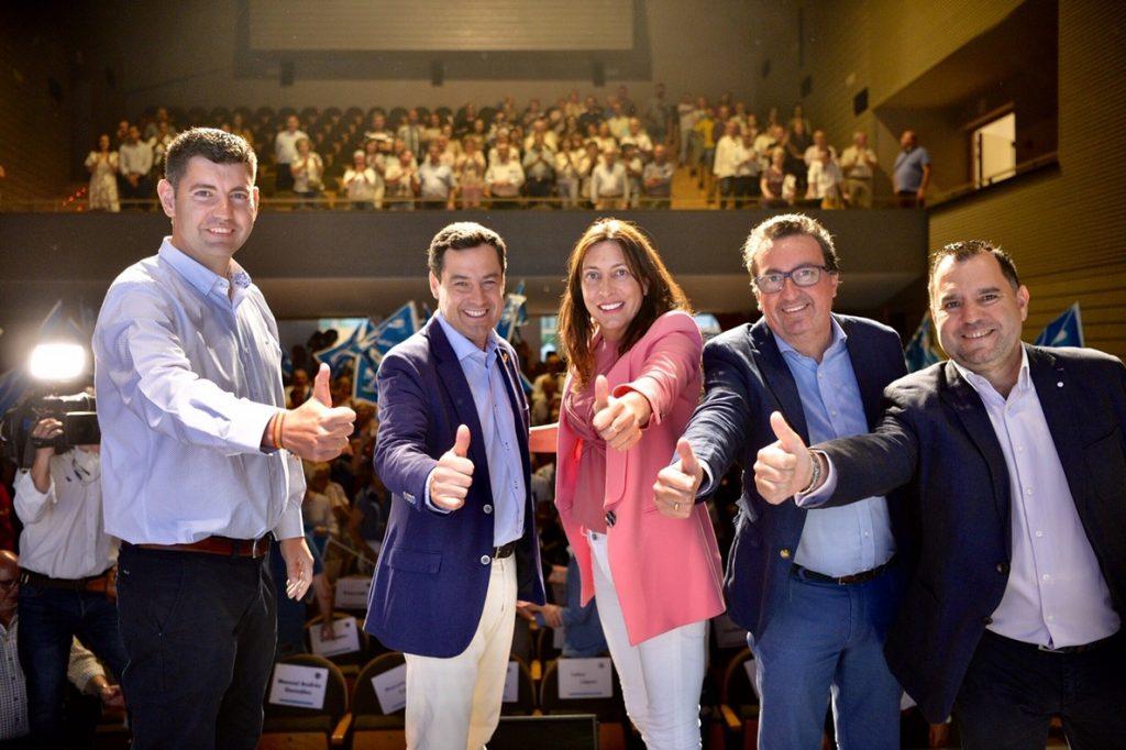 Moreno: «Esta vez los alcaldes van a tener un hermano mayor con músculo en el presidente de la Junta»