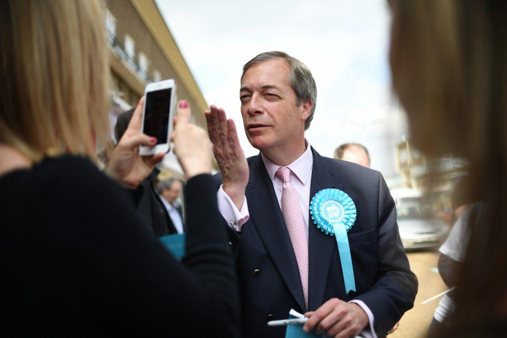 El Partido del Brexit se mantiene como favorito para las elecciones europeas en Reino Unido