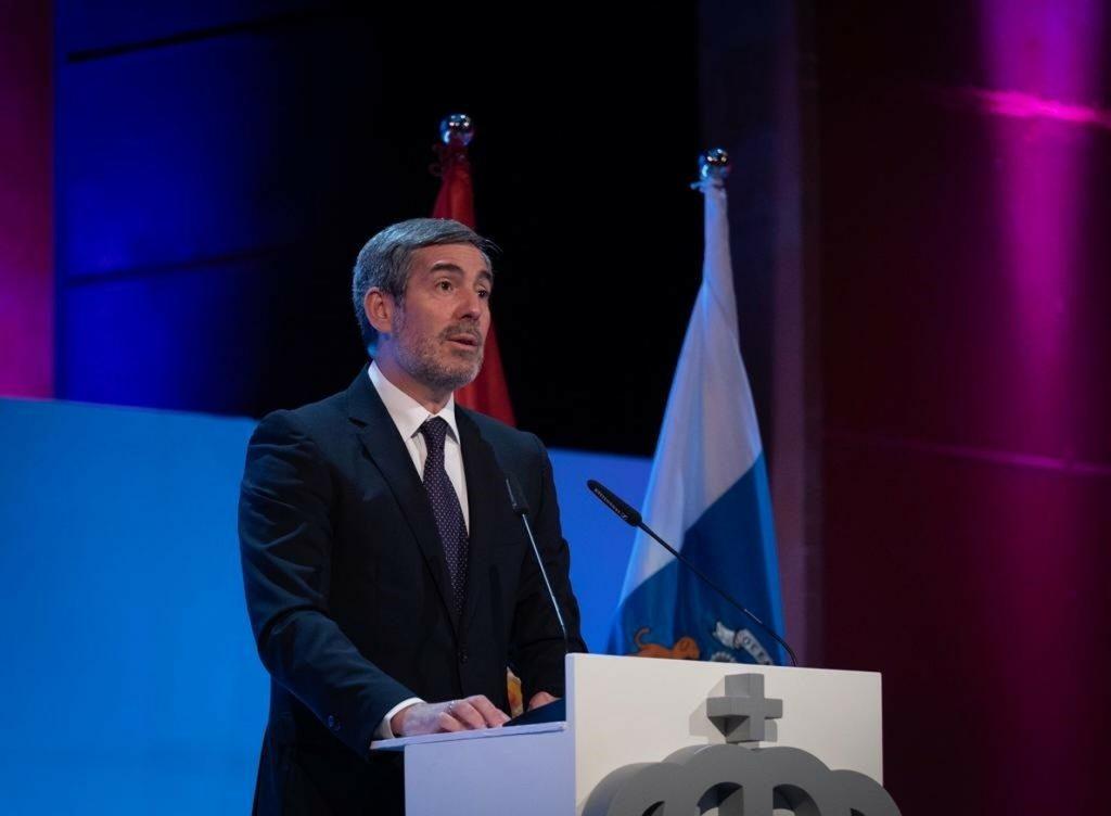 Clavijo muestra su «más dura condena y repulsa» por el presunto crimen machista ocurrido en Arinaga (Gran Canaria)