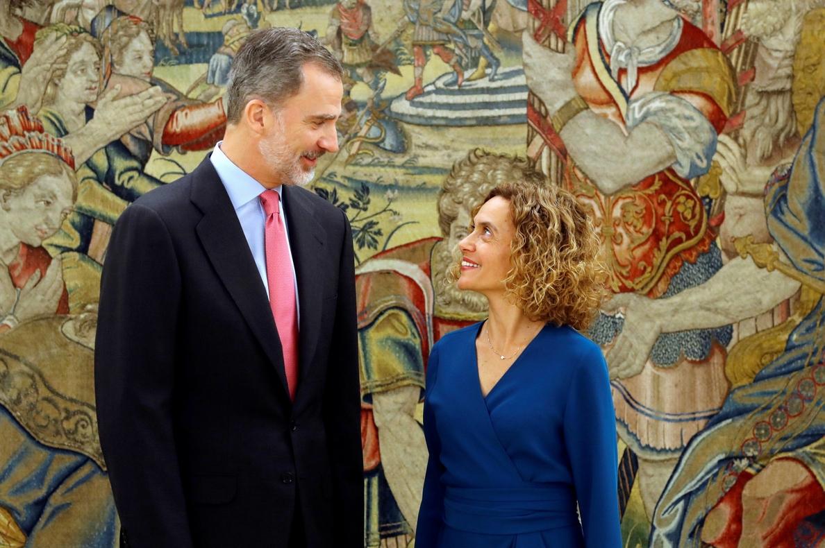 Batet acude esta tarde a Zarzuela para comunicar la composición del Congreso y que el Rey pueda convocar las consultas