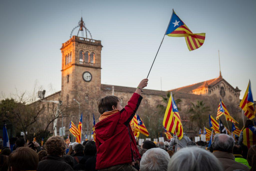 Entidades y partidos independentistas convocan una protesta para el último día del juicio por el 1-0