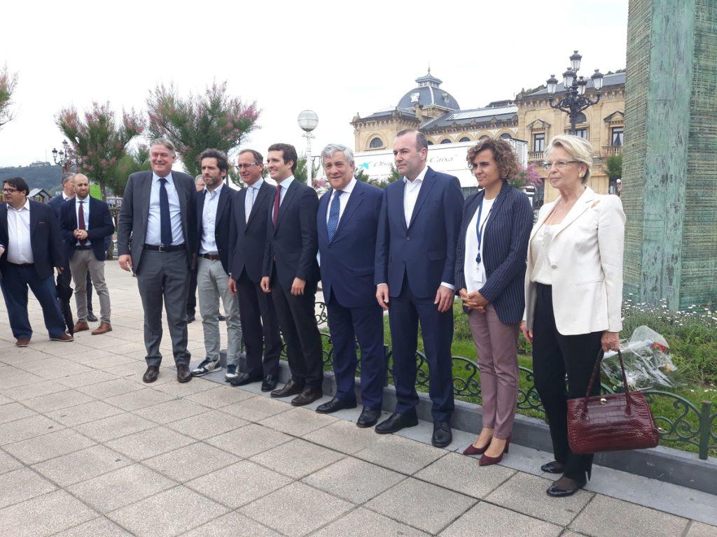 Casado «entiende y respeta» la defensa del PP vasco de la foralidad y la «singularidad» de Euskadi