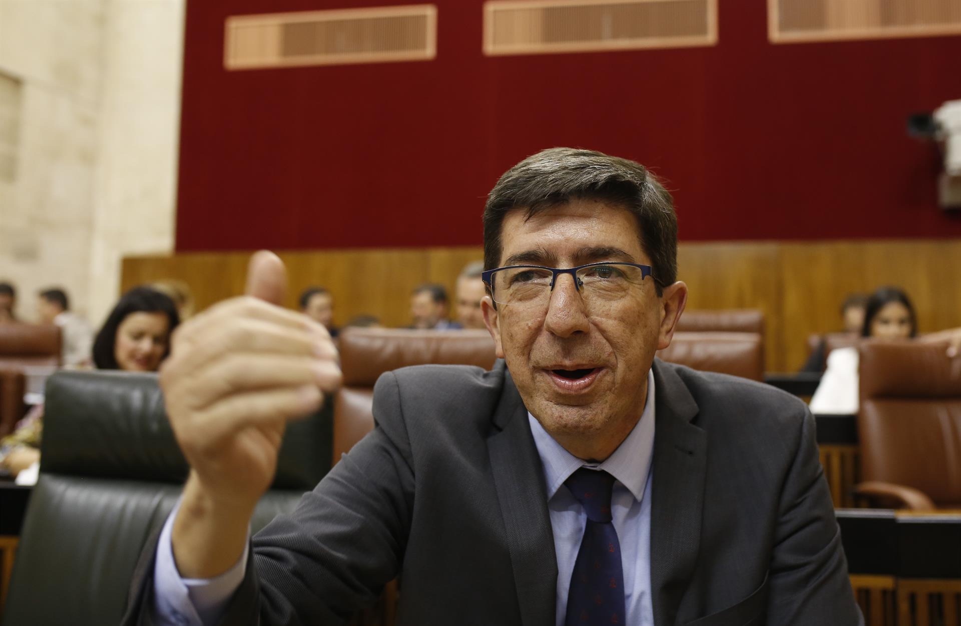 Cs espera que Vox retire su enmienda al Presupuesto andaluz o «tendrá que explicar su voto con PSOE-A y Adelante»