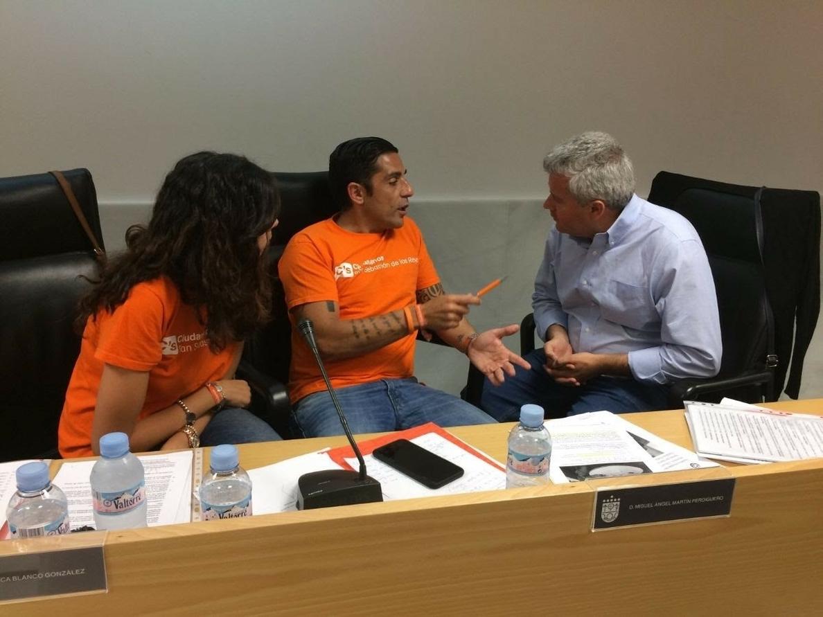 Más Madrid acusa al alcalde de San Sebastián de los Reyes de «traicionar» a sus votantes al pactar con Ciudadanos