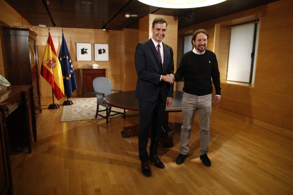 Sánchez e Iglesias se reúnen esta tarde para intentar desbloquear la investidura