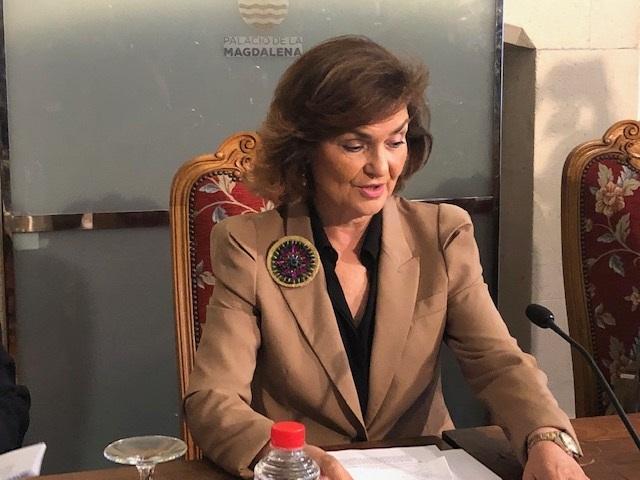 Calvo no descarta que Sánchez sea investido con los votos de independentistas