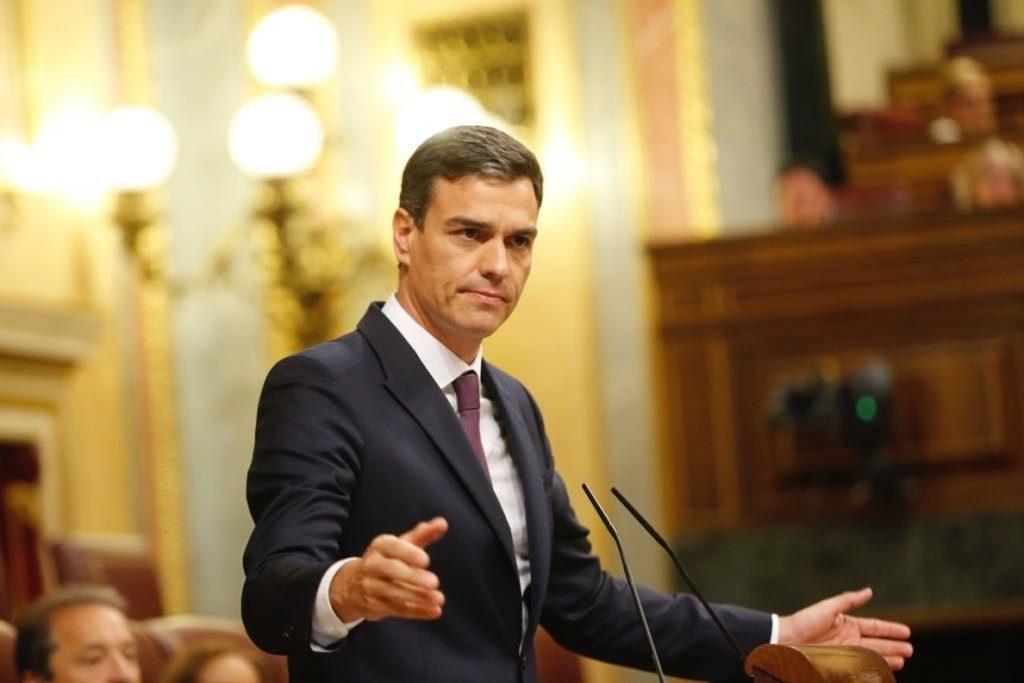 Sánchez pide a PP y Cs que faciliten el Gobierno