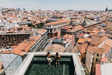El hotel más loving está en el centro de Madrid