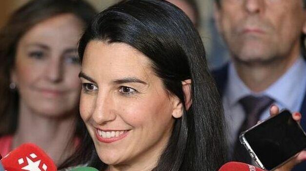 Monasterio presenta un documento para apoyar a Ayuso como presidenta de la Comunidad de Madrid