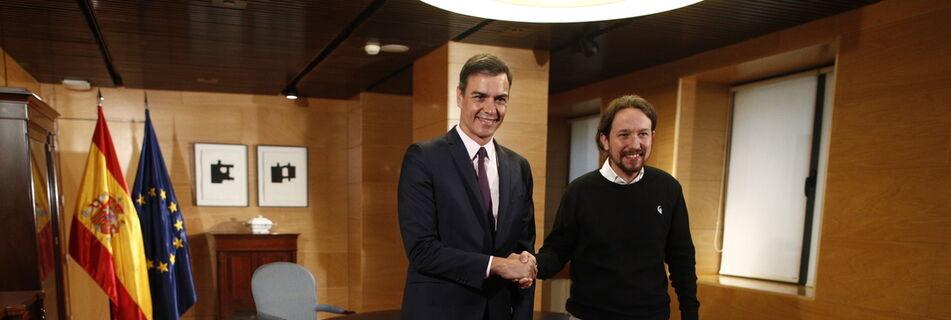 Sánchez ofrece a Podemos cargos en instituciones y órganos del Estado, fuera del Consejo de Ministros