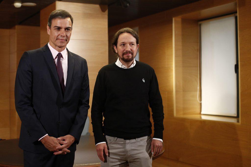 Iglesias plantea a Sánchez un acuerdo de coalición sobre la base de julio