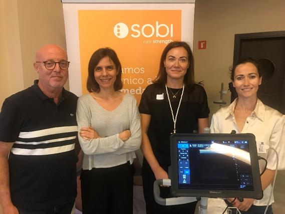 JOINt Us', un proyecto para mejorar el cuidado de la salud articular del paciente con hemofilia mediante monitorización con ultrasonidos