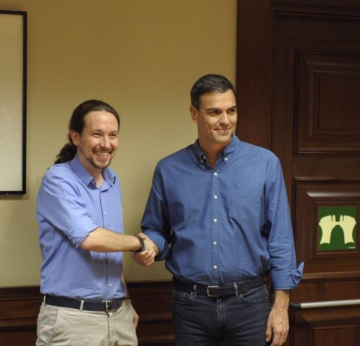 Sánchez cede y acepta un Gobierno de coalición con Iglesias