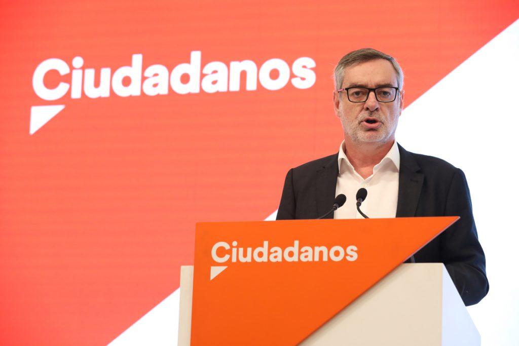Villegas anuncia que dejará la dirección de Ciudadanos tras las primarias