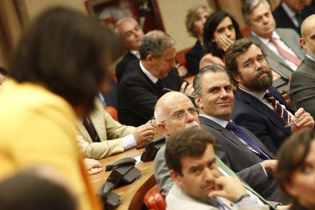 Cs, PP, Más Madrid y PSOE aprueban el pacto municipal contra la violencia hacia las mujeres con la abstención de Vox