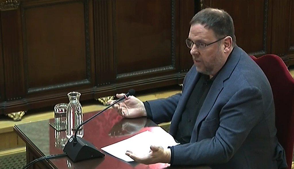 El Constitucional rompe su unanimidad y avala la prisión de Junqueras con el voto discrepante de tres magistrados