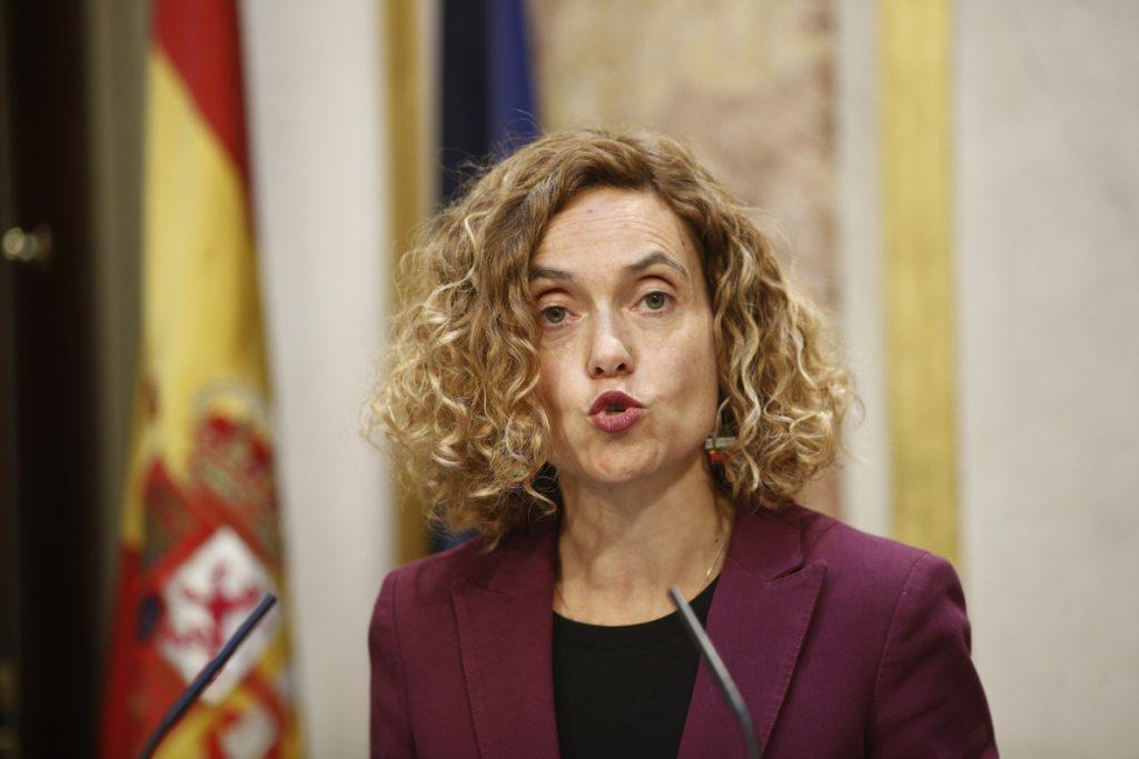 Meritxell Batet, reelegida presidenta del Congreso