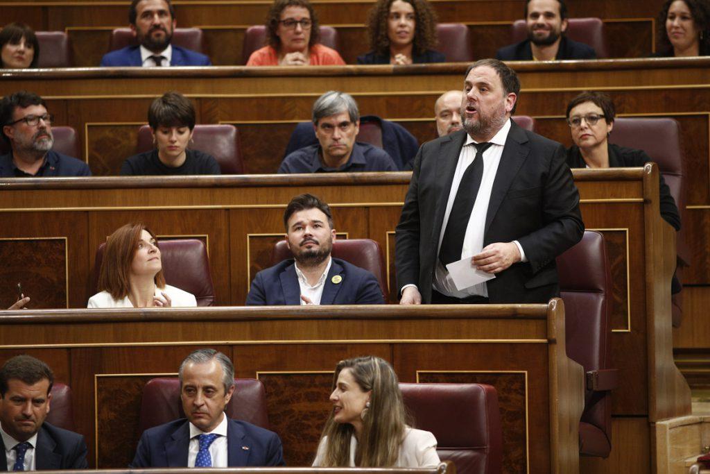 El TC aborda la prohibición de Junqueras de acudir al Parlament