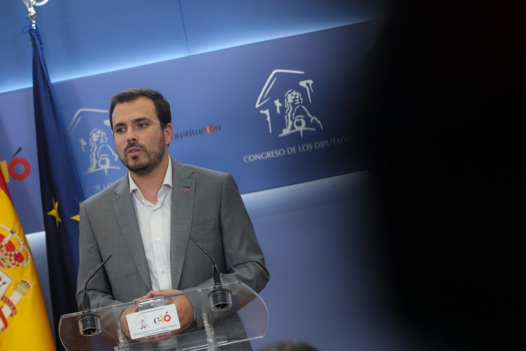 Garzón dice que faltan «algunos flecos» de la negociación de PSOE y ERC