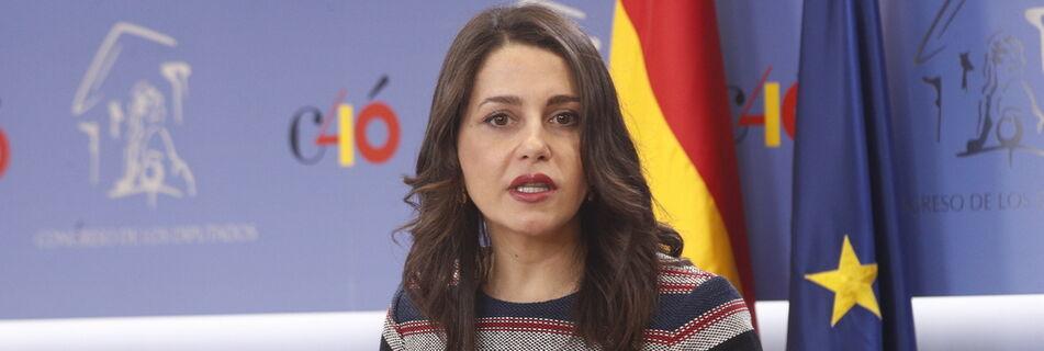 Arrimadas intentará atraer a Sánchez a un pacto PSOE-PP-Cs, pero lamenta ver al PP «pensando en gobernar después»