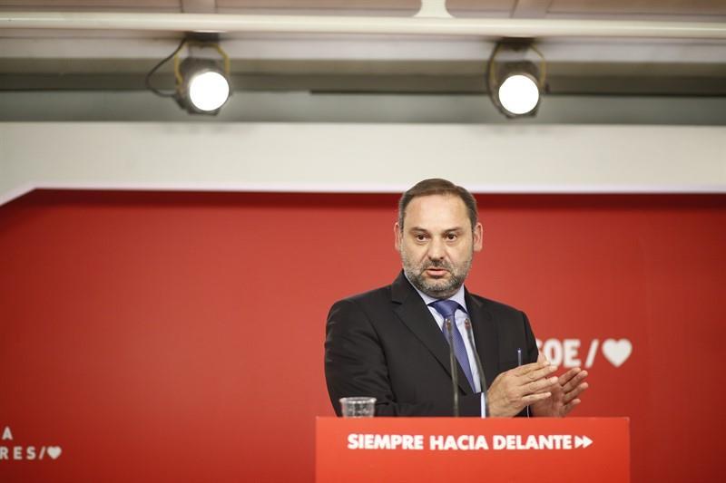 Ábalos urge a ERC al acuerdo