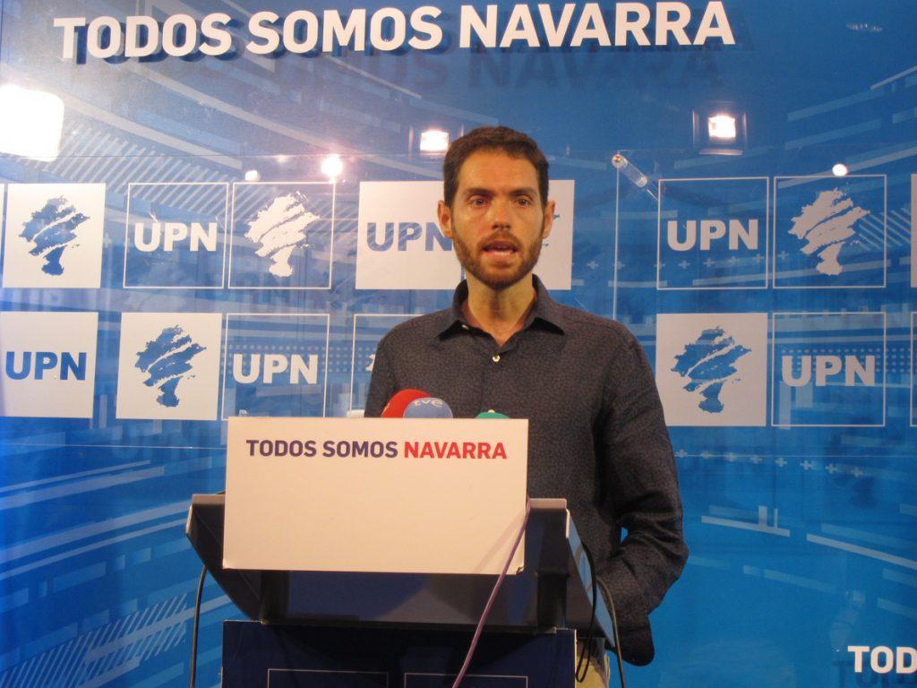 UPN reitera al PSOE su 'no' a la investidura de Sánchez