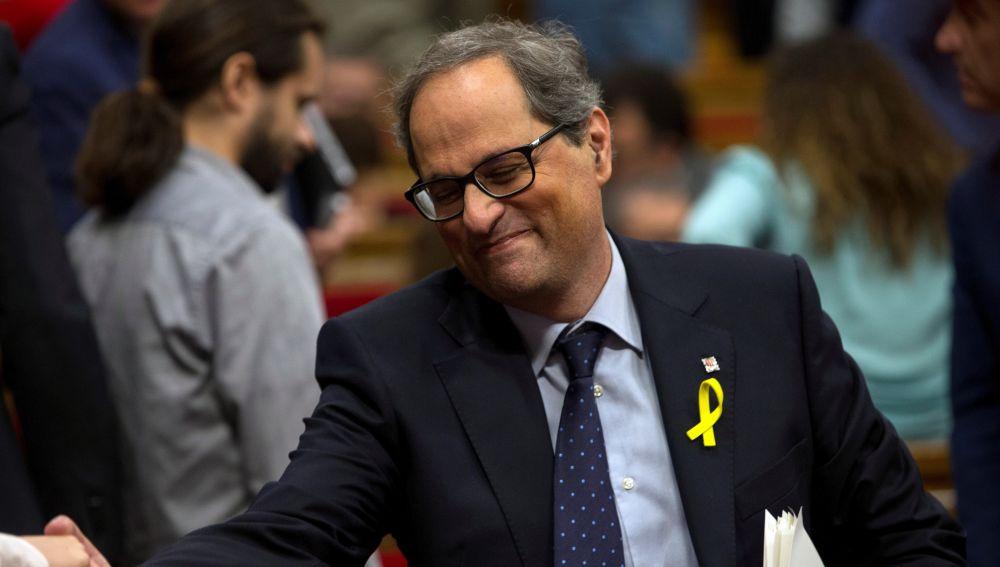 Torra insta a Sánchez a pedir «perdón» tras decretarse libertad para la mayoría de los CDR