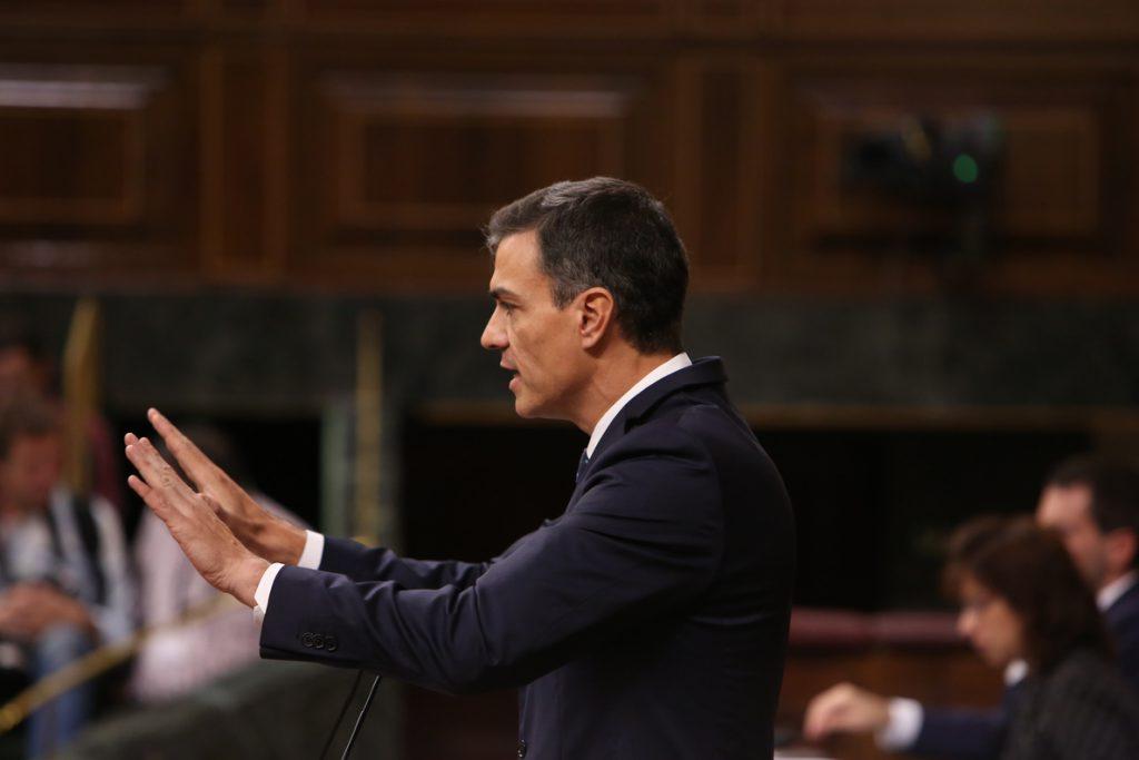 Sánchez llama a acabar con «el clima tóxico» de la política española