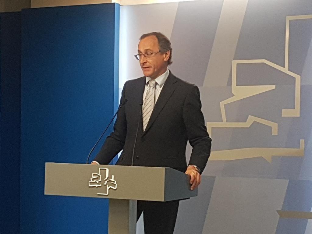 Alonso (PP) cree que la propuesta de Delgado como fiscal general del Estado es un intento de «politizar la justicia»