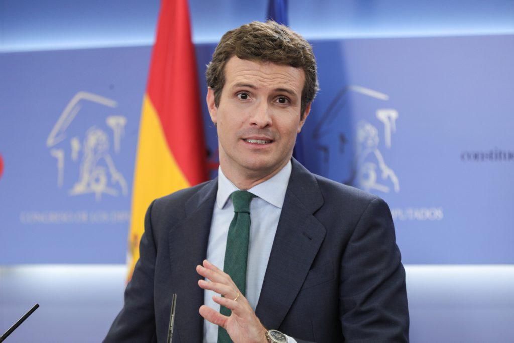 Casado advierte que el PP rechazará en el Parlamento la reforma del Código Penal