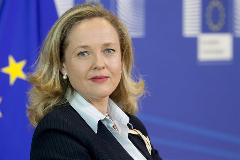 Calviño dice que España no renuncia a la 'tasa Google', a la espera de que la OCDE defina su propuesta