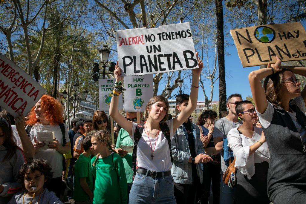 La mitad de los estudiantes españoles consideran que el cambio climático es el problema más urgente al que se enfrenta el mundo actualmente