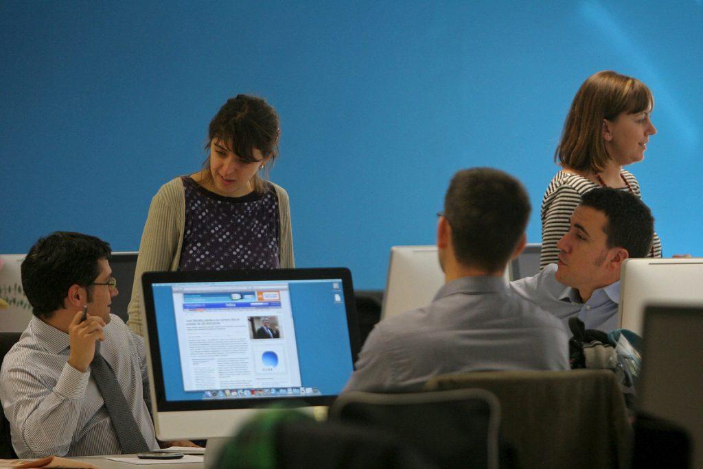 Siete de cada diez menores de 25 años está trabajando, la mayor tasa desde 2008