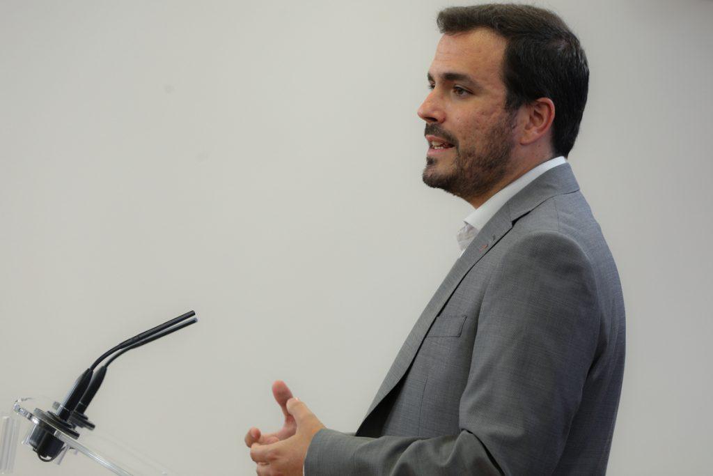 IU defiende la salida «solidaria» a la crisis del Covid-19 con medidas como las de hoy