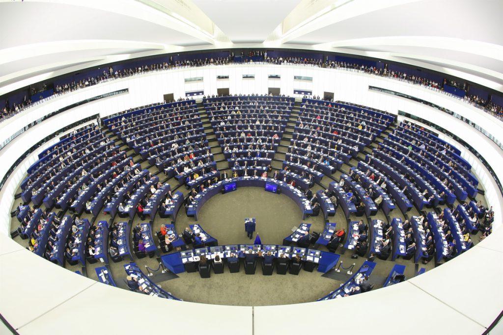 El Parlamento Europeo celebra esta semana un pleno en Bruselas que estaba previsto para principios de abril