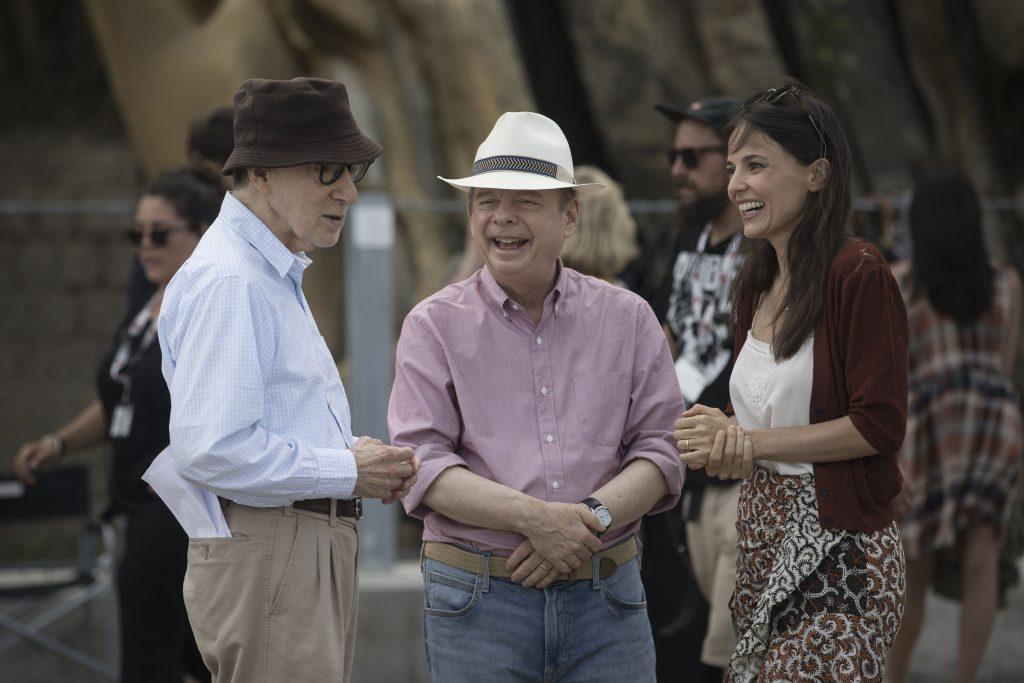 Primeras imágenes de Rifkin's Festival , la nueva comedia de Woody Allen