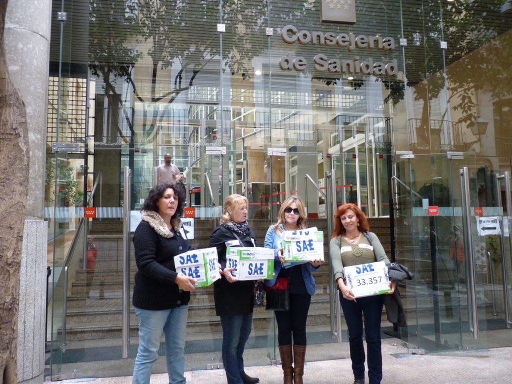 SAE denuncia a la consellería de sanidad y a la de política social y exige PCR periódicos a todos los profesionales