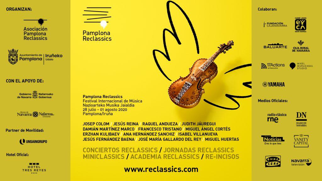 Reclassics:I edición del Festival Internacional de Música de Pamplona