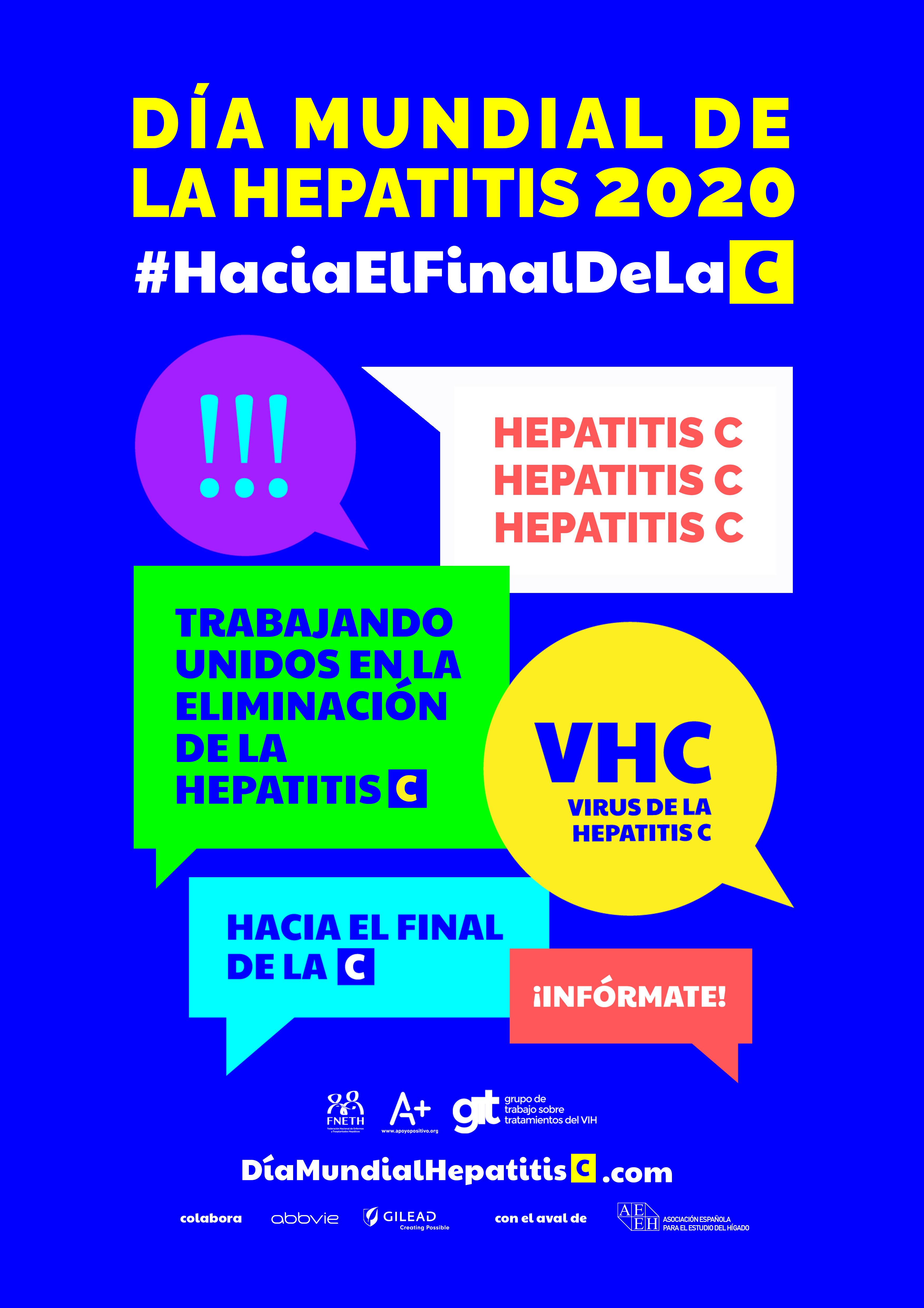 """""""Hacia el final de la C"""", campaña para promover el diagnóstico de la hepatitis C"""