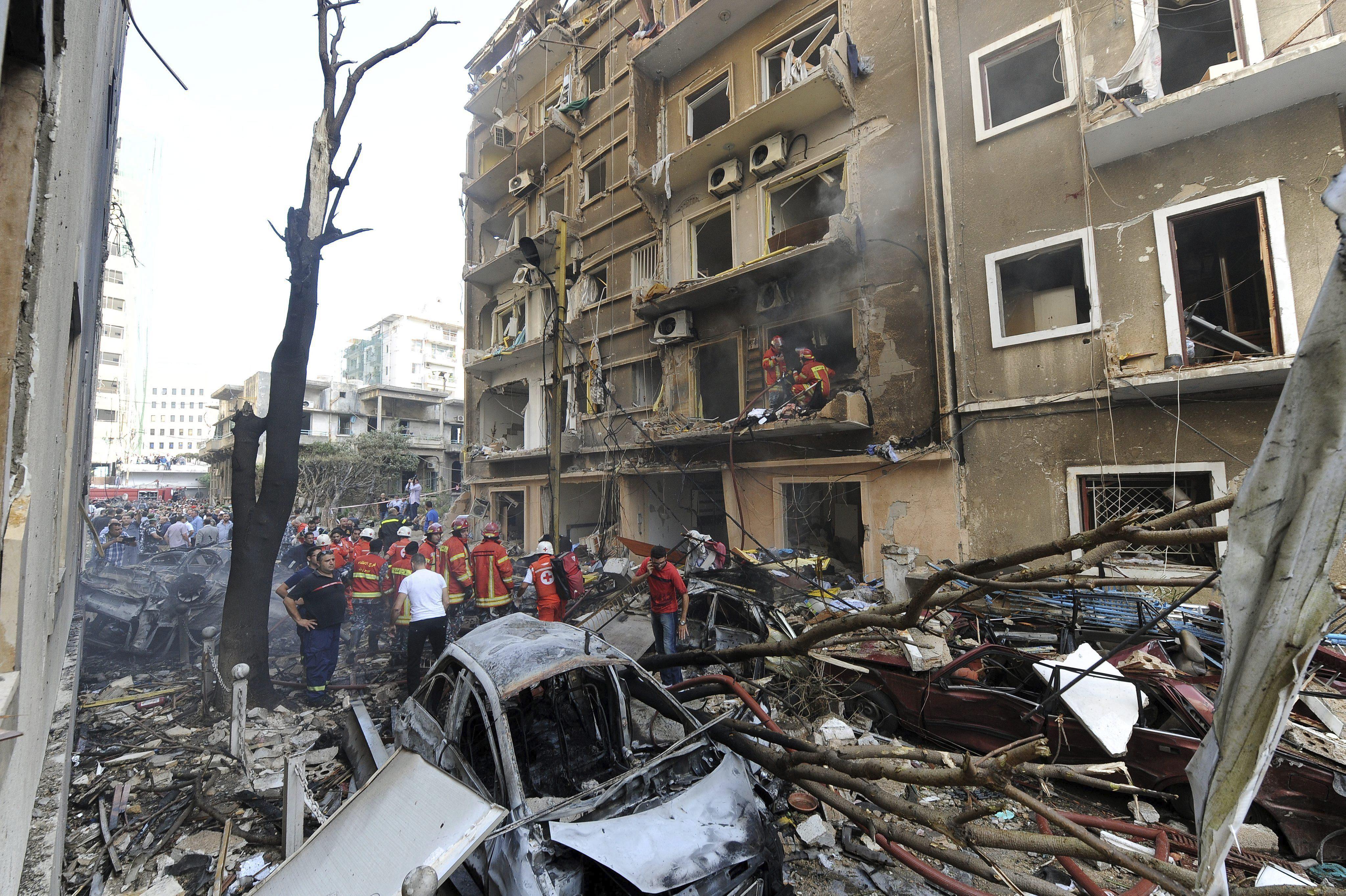Líbano sufre una grave escasez de agua tras la explosión en Beirut