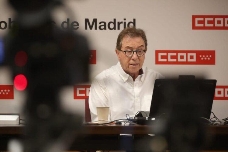 Jaime Cedrún (CC.OO), sobre las nuevas medidas restrictivas de Ayuso: siguen siendo «inútiles y discriminatorias»