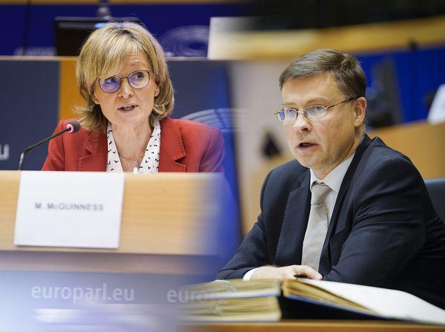 La Eurocámara aprueba el nombramiento de Mairead McGuinness como comisaria