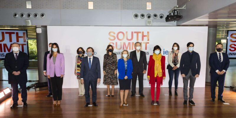 Nadia Calviño y José Luis Martínez-Almeida inauguran South Summit 2020