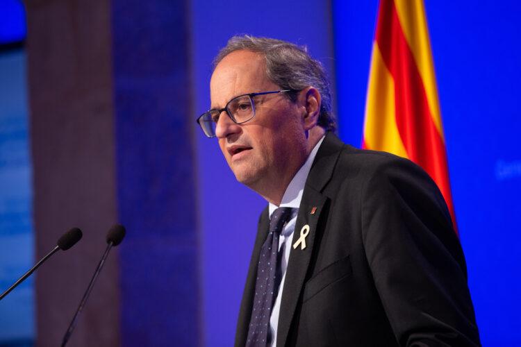 El Constitucional rechaza suspender la inhabilitación de Quim Torra