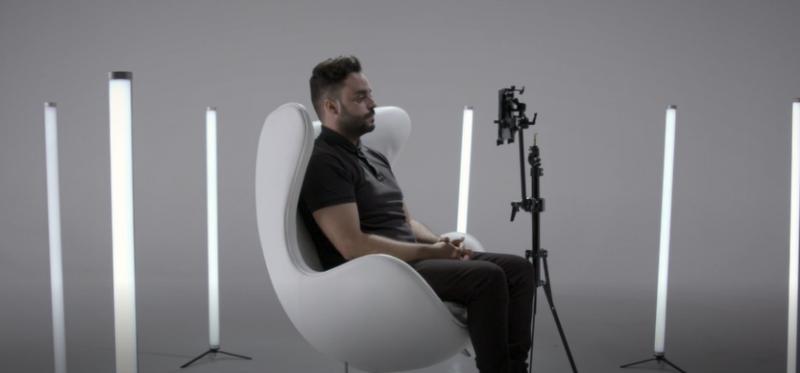 Samsung y la startup española Irisbond desarrollan la app Tallk, que permite 'hablar' a través de la mirada a los enfermos de ELA