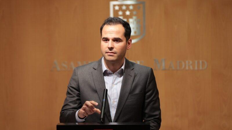 Aguado propone hacer test de antígenos a todos los Madrileños antes de Navidad